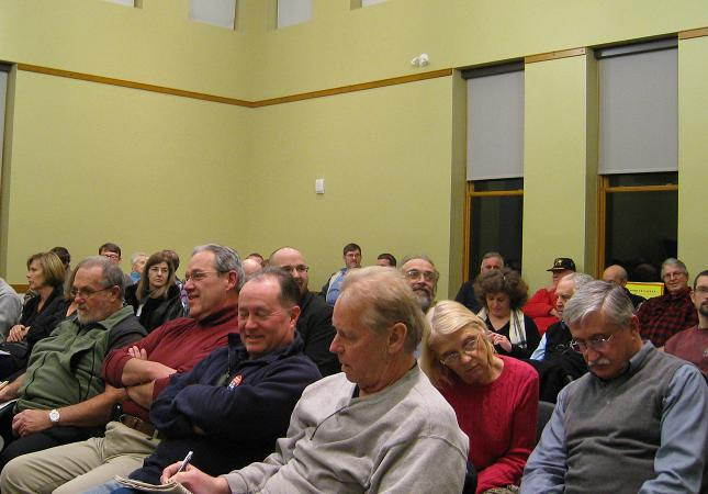 Northborough Tea Party: Good turnout
