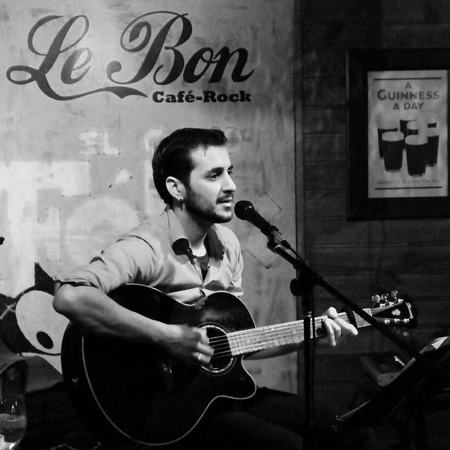 NACHO ÁLVAREZ EN DIRECTO - LE BON CAFÉ ROCK - LEÓN 20.12.12