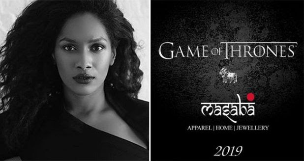 Indian Designer Masaba Gupta Gets Associated With Game Of Thrones