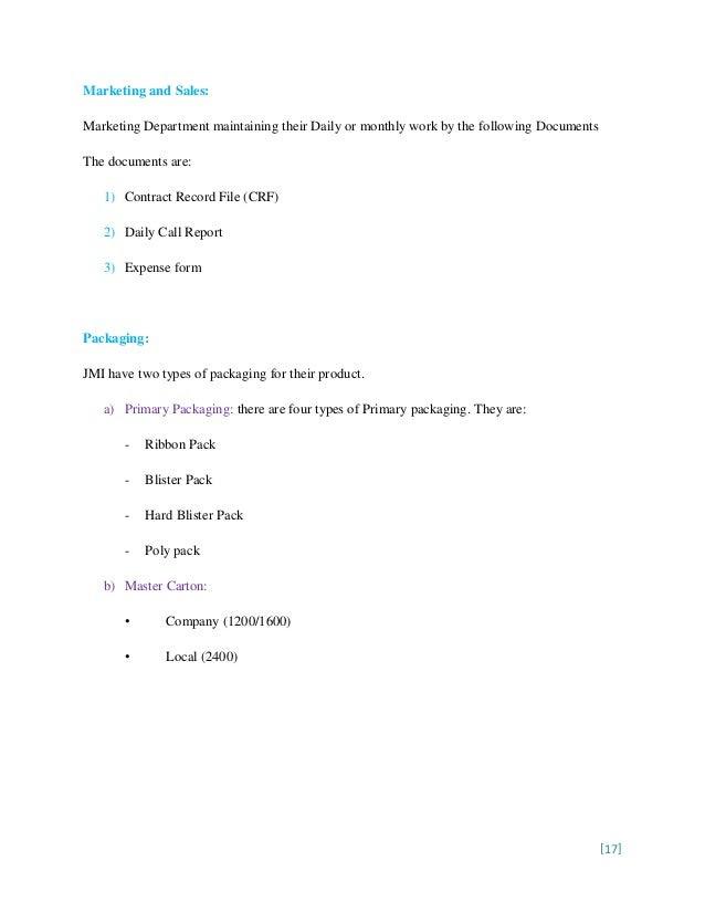 Report on Business Marketing Research on JMI, a B2B Market [Elegant (…