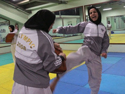 iran's olympic hopeful