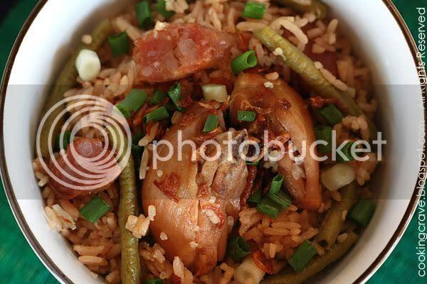 Chinese Sausage & Long Beans Rice1