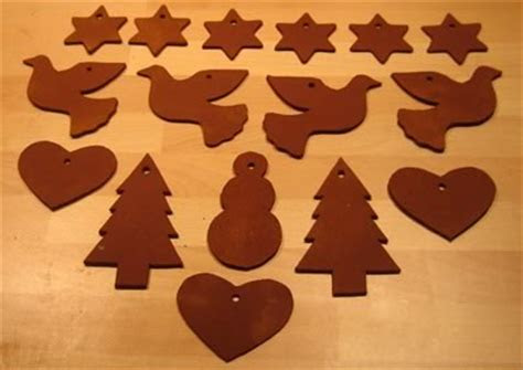 DIY Cinnamon Dough Ornaments   Recipe & Free Templates