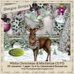 White Christmas And Mistletoe Cu 4 Cu FS
