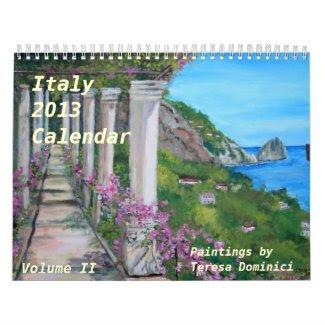 Italy 2013 Calendar - Volume 2