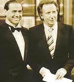 Berlusconi e Mike Bongiorno
