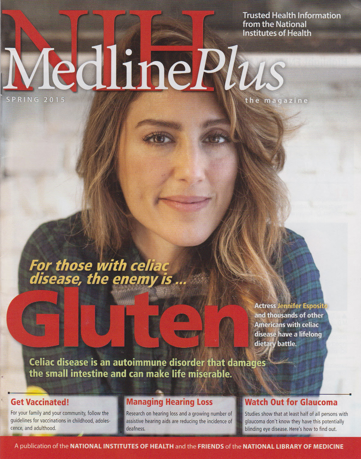 Cover of NIH MedlinePlus the Magazine Spring 2015 Issue