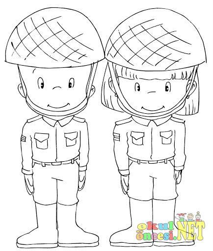 Asker Boyama Ve Etkinlikleri Okul öncesi Forum