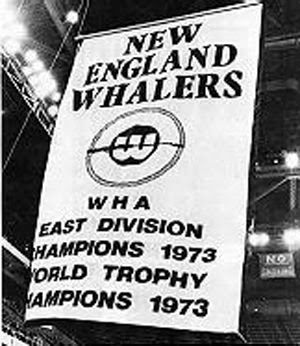 Whalers 1973 Championship Banner, Whalers 1973 Championship Banner