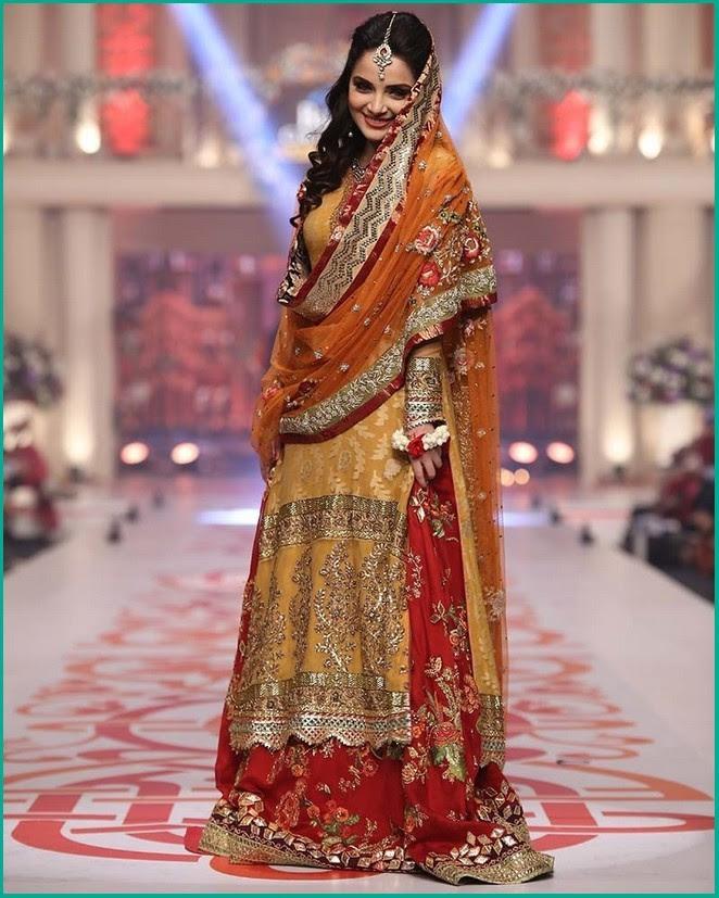 pakistani wedding dresses 2018 with price