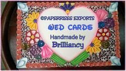 Customized Wedding Cards at Best Price in India