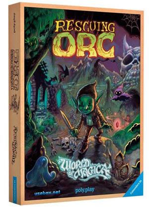"""Edición física de """"Rescuing Orc"""""""