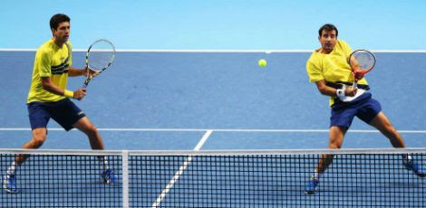 A dupla se tornou a melhor do ranking da ATP. / Foto: Getty Images