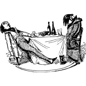 Drunken Men Clipart Cliparts Of Drunken Men Free Download Wmf Eps
