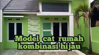 88 Koleksi Gambar Rumah Minimalis Cat Hijau HD