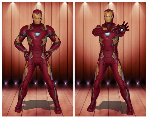 MMD Ironman Mark 43