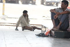 the one leg beggar and the two leg pain by firoze shakir photographerno1