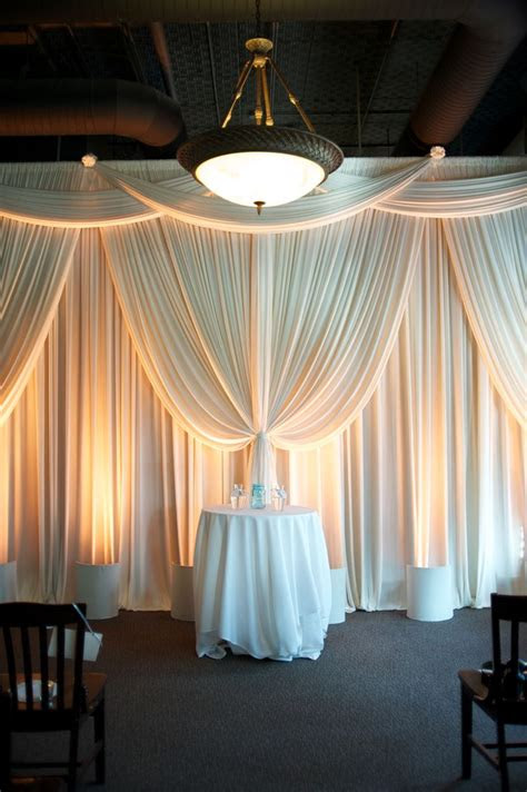 pipe  drape ideas  pinterest sequin
