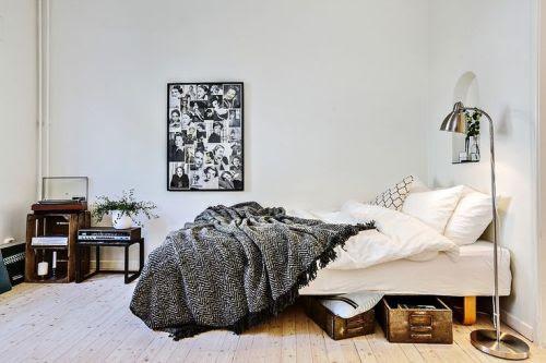 winter hipster vintage  room  bedroom  design sleep Home