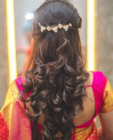 Best 25  Indian wedding hairstyles ideas on Pinterest