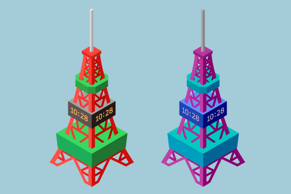 さっぽろテレビ塔の3dイラスト 街建物系イラスト専門サイトtown