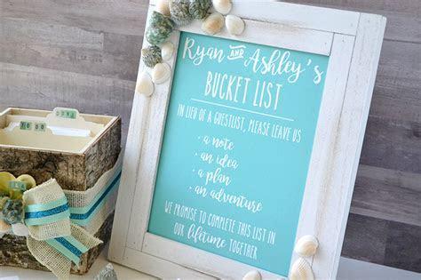 Aly Dosdall: wedding bucket list