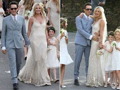 Kate Moss Galliano Wedding Dress