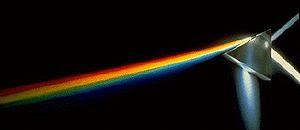 Light dispersion of prism