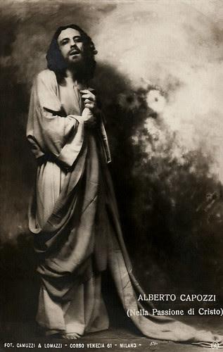 Alberto Capozzi in La Passione di Christo