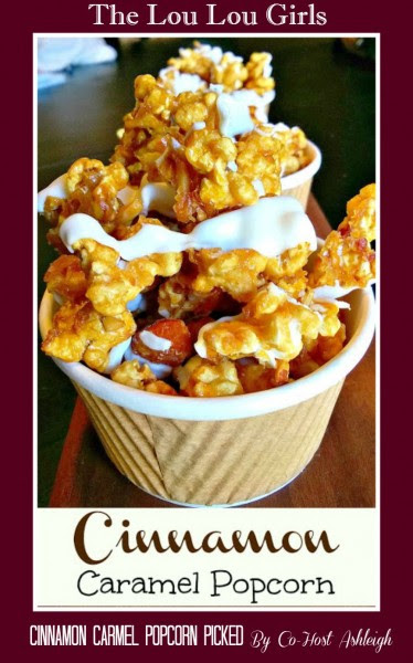 The Lou Lou GIrls-cinnamon caramel popcorn