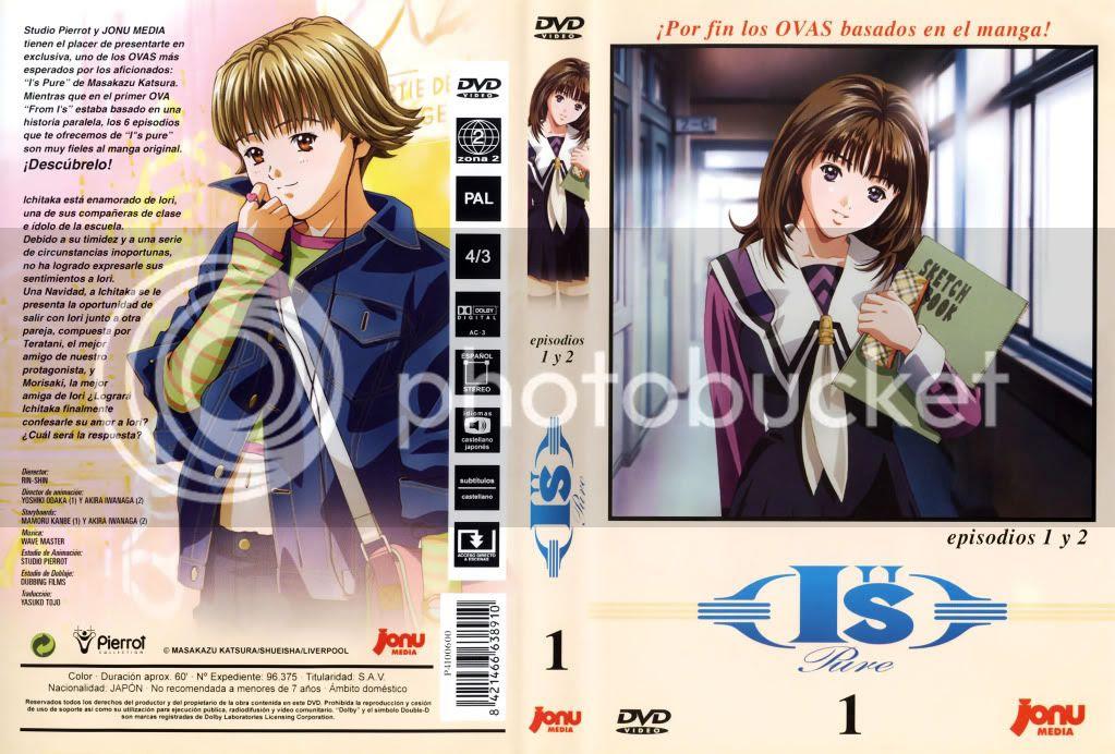 Is Pure, Ovas, Caratulas, Carátulas, DVD, clover