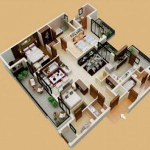 73 Gambar Desain Rumah 3 Kamar Garasi Dan Mushola Paling Keren Unduh