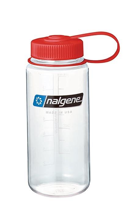 Nalgene Wide Mouth Bottle (Clear, 1-Pint)
