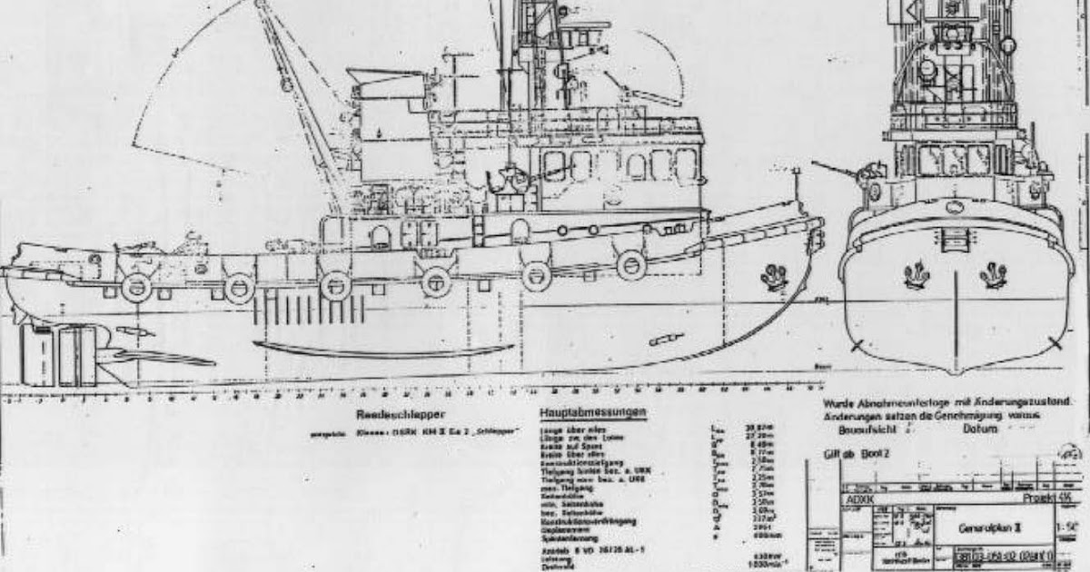 Plywood tugboat plans ~ Sailing Build plan