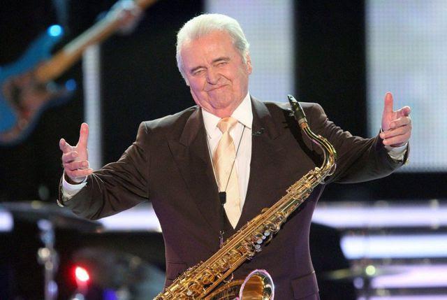 Deutsche Swing-Legende: Max Greger bei einem Auftritt in Klagenfurt im Jahr 2011.