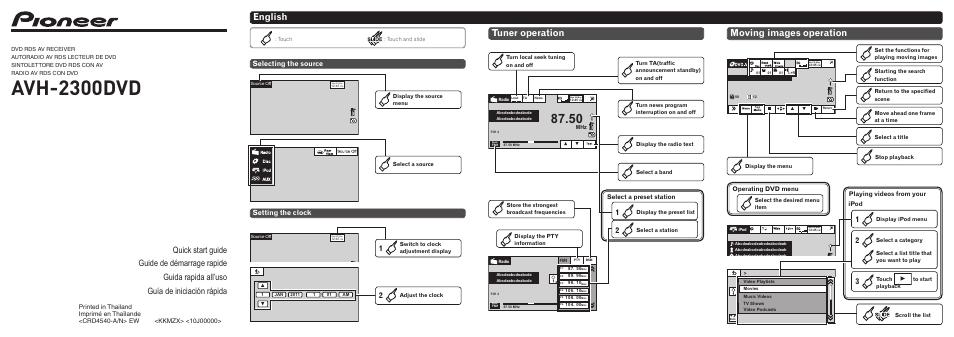 Wiring Diagram For Pioneer Avh 2300dvd, Pioneer Avh2300dvd Wiring Diagram