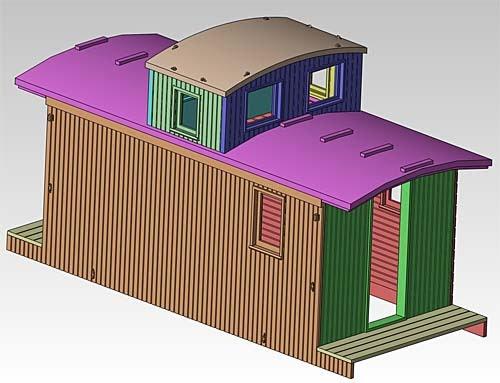 Caboose 3D 1_500