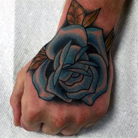 traditional hand tattoo designs men retro ideas