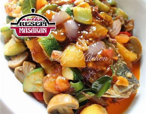 resepi ikan siakap masak  rasa ala thai aneka resepi