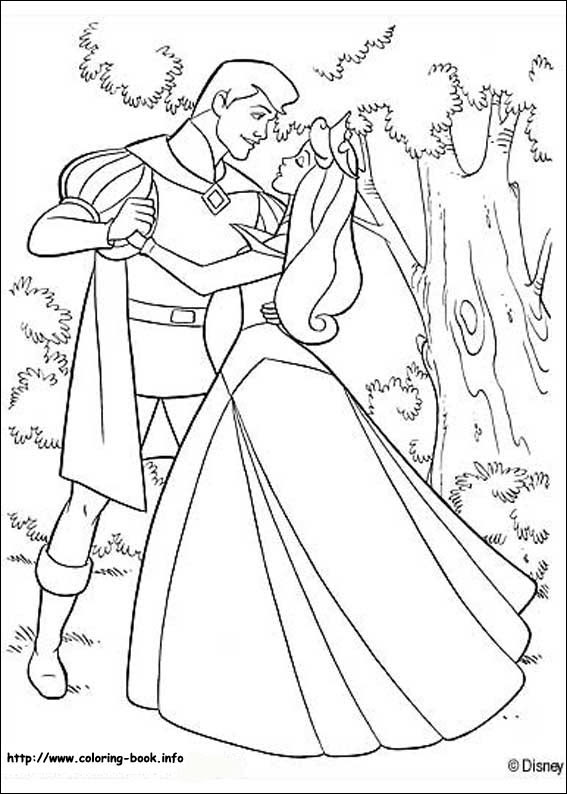 Disney Coloring Pages Sleeping Beauty At Getdrawingscom Free For