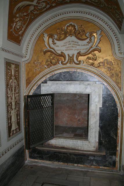 San Gregorio al Celio, il Lettuccio di San Gregorio