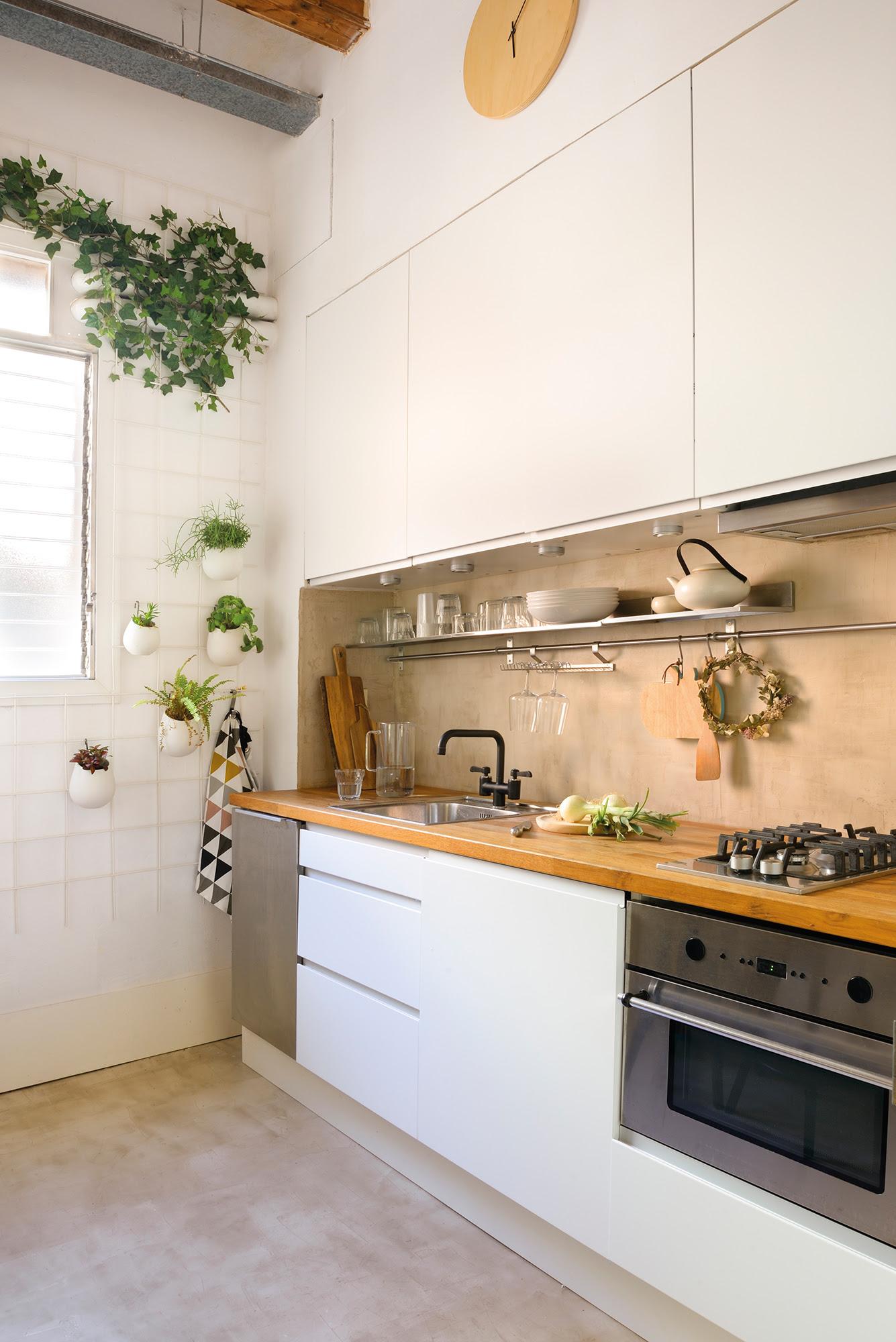 Ideas para reformar cocinas pequeñas | KidsandChic