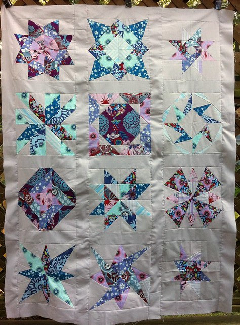 My Lucky Stars quilt top