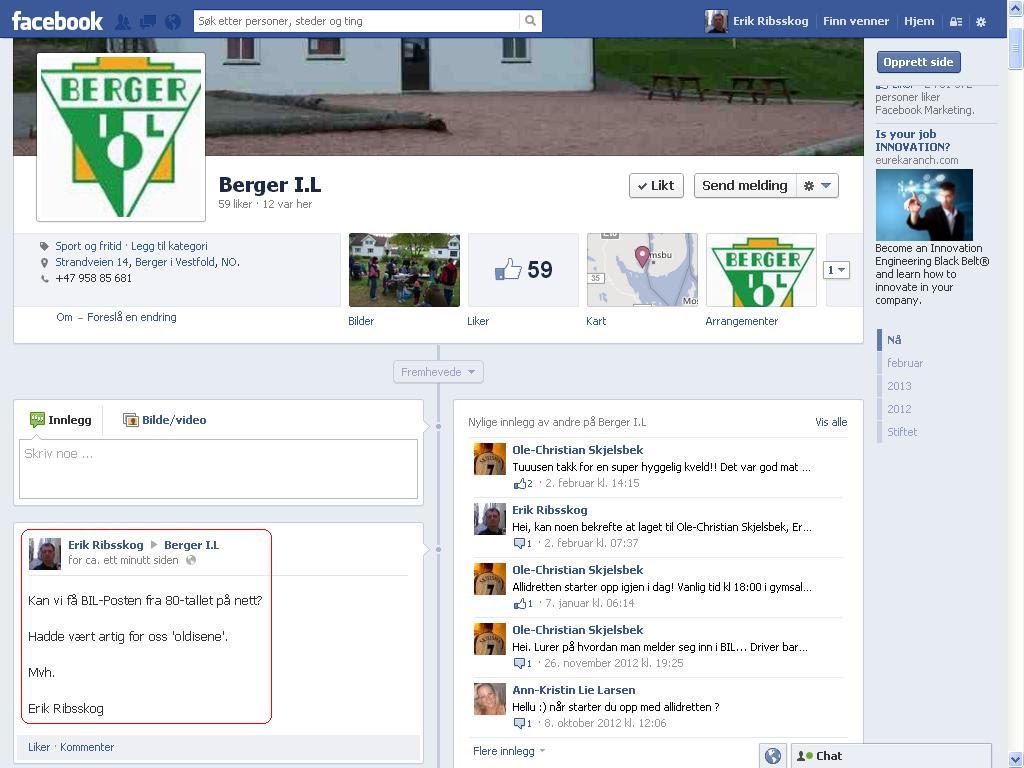 berger il sin facebook gruppe