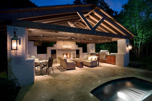 Outdoor kitchen design | Minimalisti.