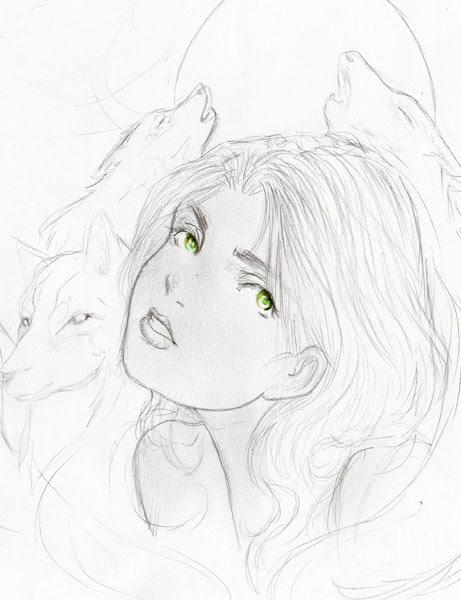 Gray Wolf Queen Raisa ana' Marianna by TheRookieCookie