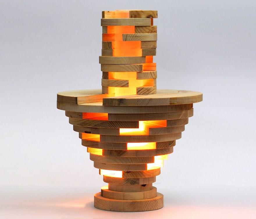 Оригинальная лампа своими руками лампа, сборная, своими руками