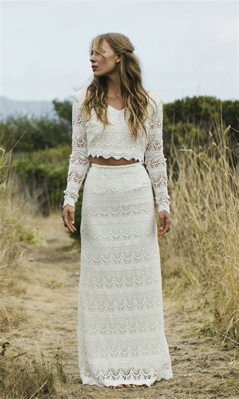 The Hippie wedding dress for brides who wants something