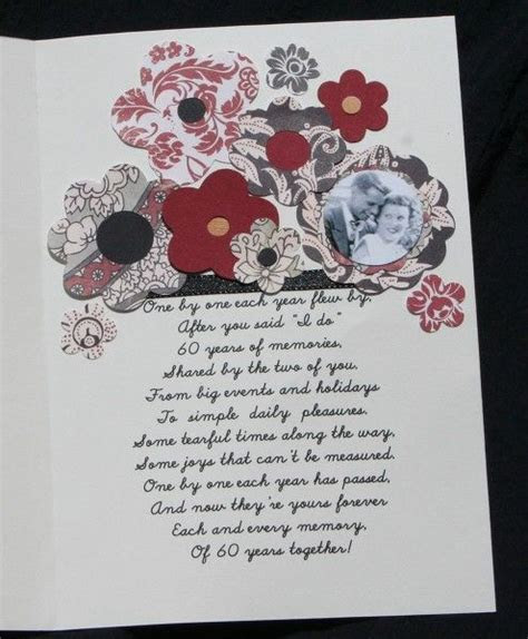 Free 60th Wedding Anniversary Poems   60th Anniversary