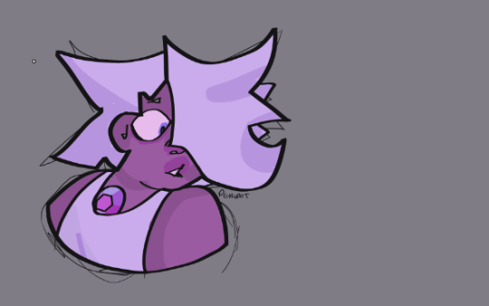 "goopy-amethyst replied to your post  ""who wanna send suggestion"""" Maybe Amethyst? "" yes! of course!"
